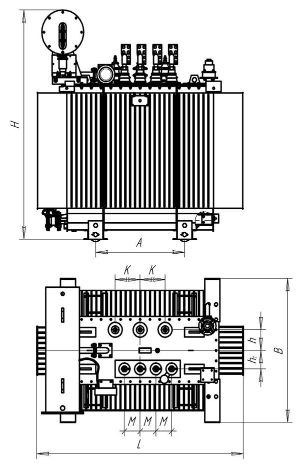 ТМ-1000кВА 6(10)/0,4кВ