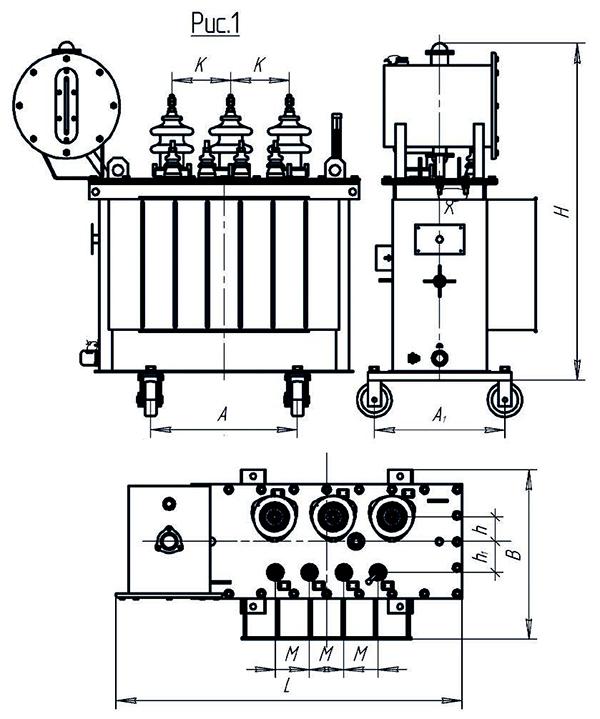 ТМ-40кВА 6(10)/0,4кВ