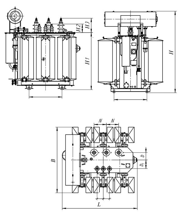 ТМ-1600кВА c ПБВ 35(20)/6,3кВ