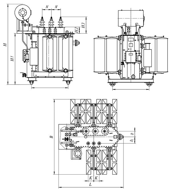 ТМ-4000кВА c ПБВ 35(20)/10,5кВ