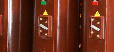 Регулировочные отпайки обмотки ВН трансформатора типа ТСЛ 40 кВ*А
