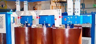 Соединения НН - алюминиевыми шинами прямоугольного сечения трансформатора типа ТСЛ 40 кВ*А