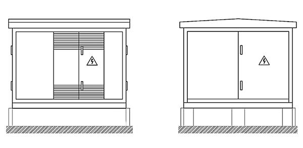 фото - комплектная трансформаторная подстанция городского типа, ктпг 100-1000 ква - 10(6) кв